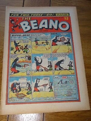 Beano Comic December 6th 1958 60 Years old