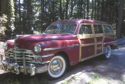 1949 Chrysler Royal woodie 1949 chrysler royal woodie  wagon==must sell