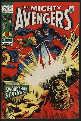 Avengers 65 Lovely Cents Copy Very Glossy, White Pages. The Swordsman Returns