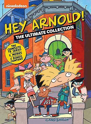 Hey Arnold! The Ultimate Collection New Sealed Dvd Complete Series Box Set