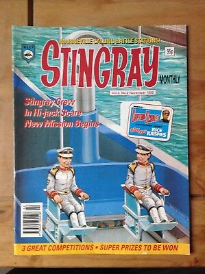 Stingray WASP Comic Magazine Volume 2 #2 November 1993