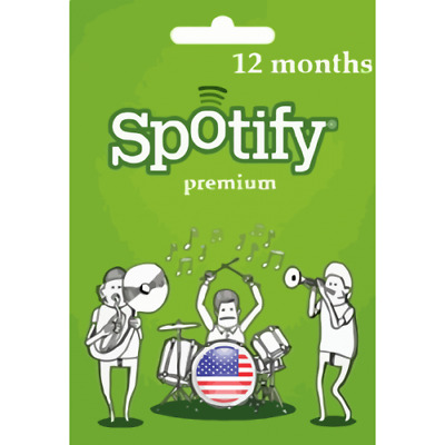 Spotify Premium - 12 Months - Worldwide - Ultra fast delivery - Cheap!