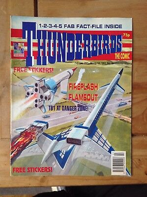 Thunderbirds Magazine Comic #36 February 1993