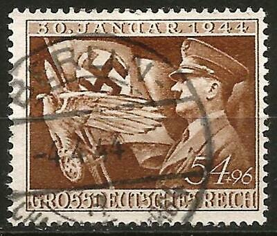 Germany (Third Reich) 1944 Used - 11th Anniversary Hitler's Munich Putsch