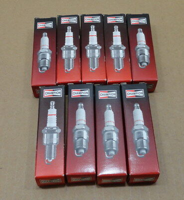 Nos Genuine Lot Of 9 Champion Spark Plug Rs9Yc Small Engine Motorcycle Outboard