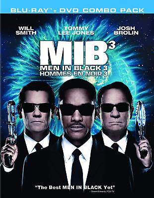Men in Black 3 (Blu-ray/DVD, 2012, Canadian Bilingual) Brand New Will Smith