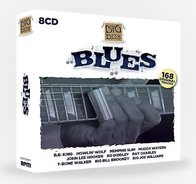 Big Box Of Blues - Various Artists 8 CD Box Set