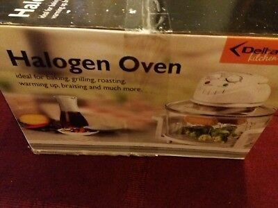 New & Boxed Delta (Kitchen) Halogen Oven – Fab Item
