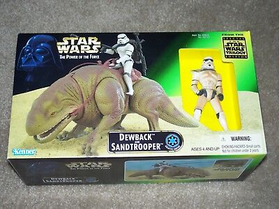 STAR WARS Dewback Sandtrooper Kenner POTF New Hope Empire Strikes Back Jedi NEW