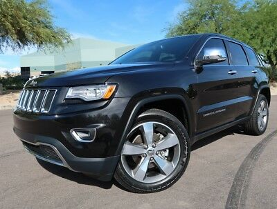 2015 Jeep Grand Cherokee Limited 20inch Whls Leather Heated/Cooled Seats Pano Roof V6 Limited 2016 2017 2013 2018