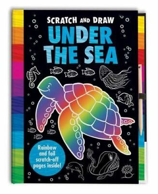 Scratch and Draw Under the Sea by Barry Green 9781787000650 (Hardback, 2017)