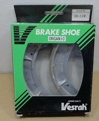 New Vesrah  Brake Shoe Organic Vb-228 Kim-075275 For Yamaha Dt250 Yz490 Srx250