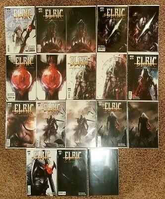 Elric The Balance Lost (Almost) Complete Mattina Set Rare Htf 7 Virgin Covers Nm