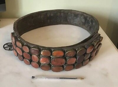 Very Rare antique Islamic, Ottoman Empire, Balkan ceremonial military belt