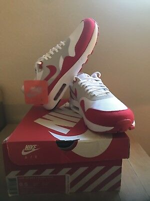 Nike Air Max 1 Ultra 2.0 LE 9.5 White University Red OG supreme DS