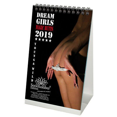 Dream Girls Magic Butts · DIN A5 Tischkalender 2019 · Erotik · Babes · Pin Up ·