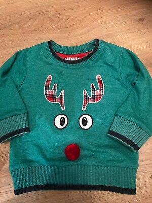 Boys Christmas Jumper 12-18 Months