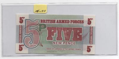 1972 PK-M47 Great Britian Armed Forces 5/Five New Pence. CCU           #MF-011