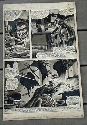 1979 Marvel Howard the Duck Magazine #2-Page 23 Original Artwork by Gene Colan