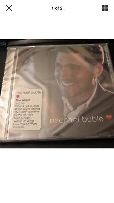 Michael Buble Love ❤ Cd - Brand New Sealed In Hand....free Shipping!!!