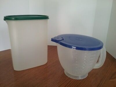TUPPERWARE Modular Mate  and Measuring Batter Bowl with Lids