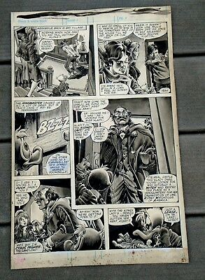 1979 Marvel Howard the Duck Magazine #2-Page 24 Original Artwork by Gene Colan