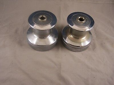 Pair of Lewmar #40 Two Speed Winches