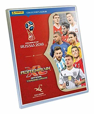 Colección Completa Panini Adrenalyn XL World Cup Russia 2018