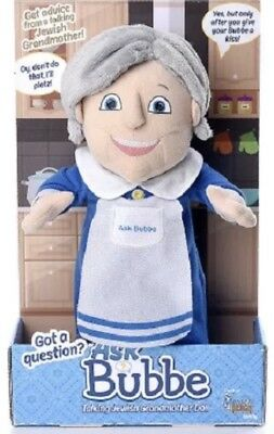 NEW Collectible Jewish Bubbe (Grandma) Talking Doll - NEED ADVICE ASK BUBBE