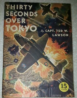 AMERICAN LIBRARY nn(#1) THIRTY SECONDS OVER TOKYO (movie) 1943 WAR  VG+ COPY