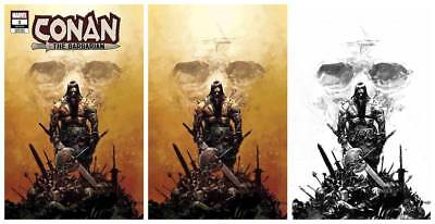 CONAN THE BARBARIAN (2019) #1 Zaffino 3 Variant Set 1:25 Virgin Ink Pre-Sale NM