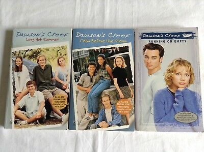 3 DAWSON'S CREEK BOOKS Bulk Lot
