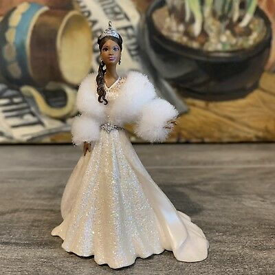 2003 Hallmark Celebration Barbie Ornament Special Ed Black African American