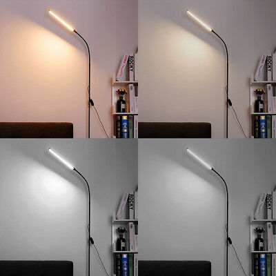 LED Floor Lamp Adjustable USB Standing Light Reading Gooseneck Bedroom Office US