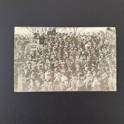 1915 University of Illinois Homecoming Football Game Real Photo Postcard RPPC
