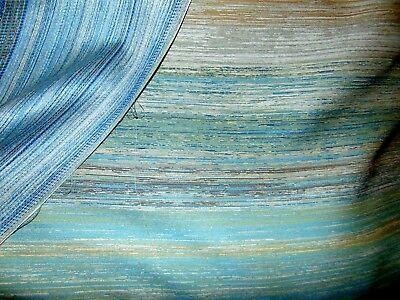 Upscale Woven  Striped Patterned Upholstery - 3 1/3 Yards X 56 Inches