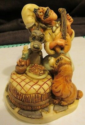 Harmony Kingdom Disney Dog Lady and the Tramp Beautiful Night Box RARE LimED 500