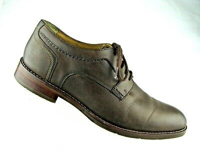 870fd7475dd Men s Johnston   Murphy Garner Plain Toe Size 9 M Brown MSRP  159 20-1818