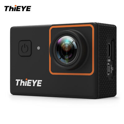"ThiEYE i30+ 2"" LCD 4K 12MP WiFi UHD Action Sports Camera Waterproof 60M DVR C8C5"