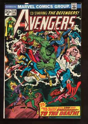 Avengers (1963 series) #118 in Very Fine + condition. Marvel comics [*ep]