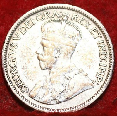 1932 Canada 10 Cents Silver Foreign Coin