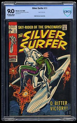 Silver Surfer #11 CBCS VF/NM 9.0 Off White to White