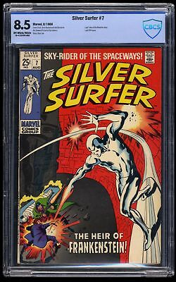 Silver Surfer #7 CBCS VF+ 8.5 Off White to White