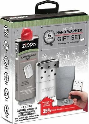 "Zippo ""Hand Warmer Gift Set"", Lighter & Hand  Warmer, Up to 6 Hours, 40351"