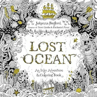 Lost Ocean An Inky Adventure and Coloring Book for Adults 9780143108993