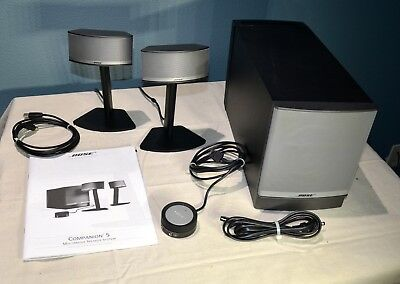 Bose Companion 5 Computer MultiMedia Speaker System