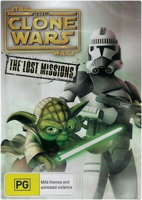 """STAR WARS: THE CLONE WARS, THE LOST MISSIONS"" Season 6"" DVD - Region [4] NEW"
