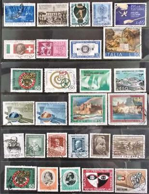 Selection of Used Stamps from Italy - see photo (20)