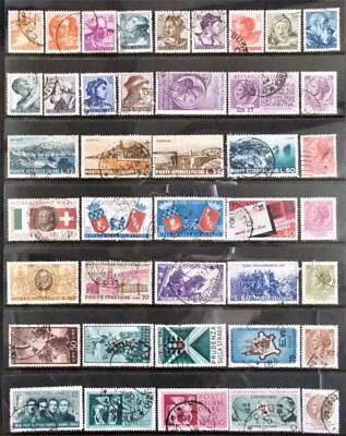 Selection of Used Stamps from Italy - see photo (19)