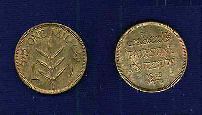 Palestine   1935  1 Mil  Coin   Uncirculated, Beautiful!